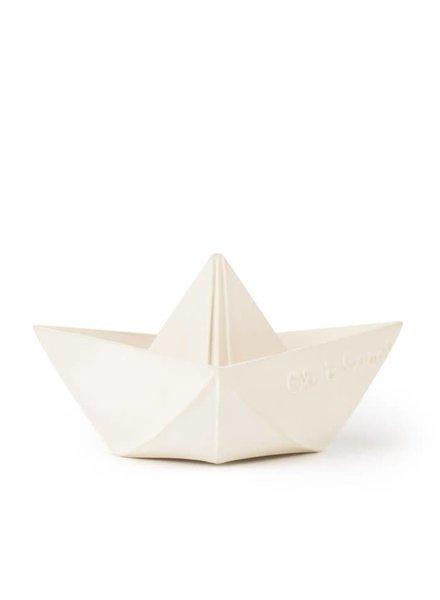 Oli & Carol Badspeeltje boot wit