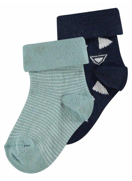 Noppies 2 paar sokken - Keulen - donkerblauw