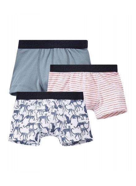 Petit Bateau Set van 3 boxershorts - luipaard