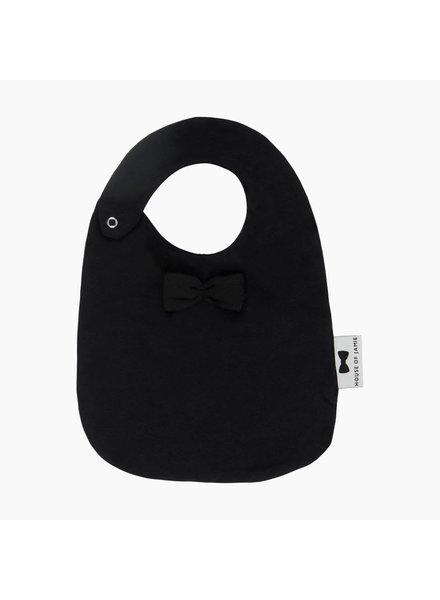 Bow tie bib - Black