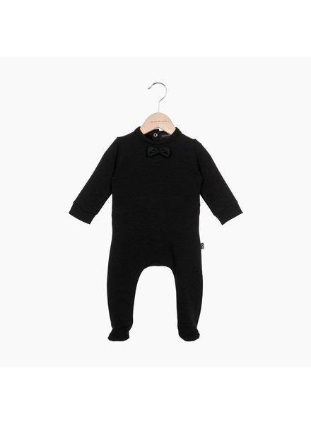 Bow Tie babysuit - black (62/68)