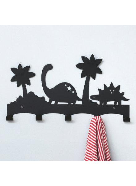 Land of Kids Eina Design Dino kapstok Zwart