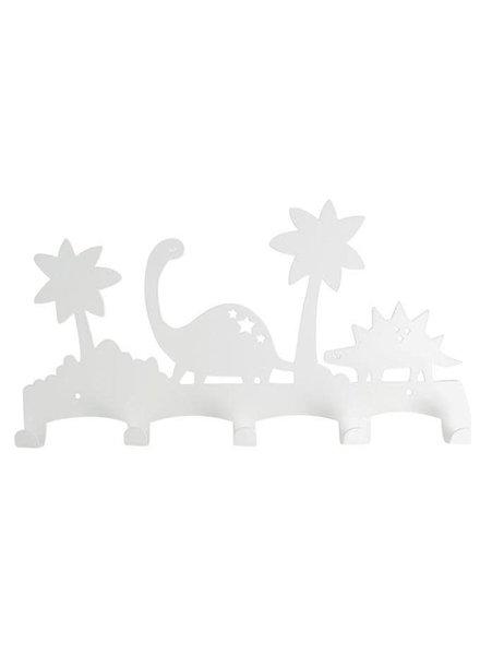 Land of Kids Eina Design Dino kapstok Wit