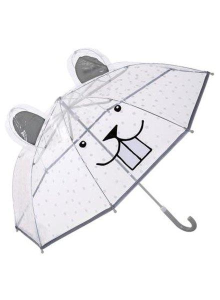 Bloomingville Kids Umbrella Clear - bear