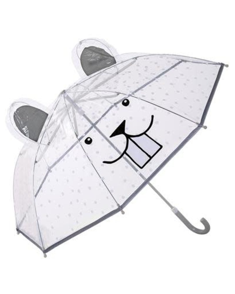 Bloomingville Kids Umbrella Clear - bear