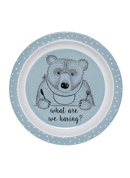 Bloomingville Plate Blue