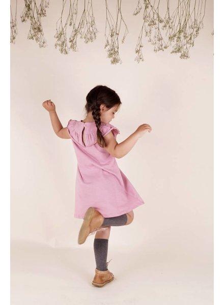 Krutter Dress Berry - Ruffle