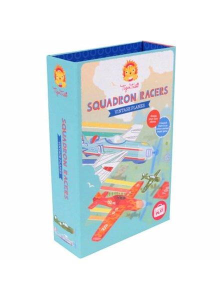 Tiger Tribe Squadron Racers - Vintage Planes