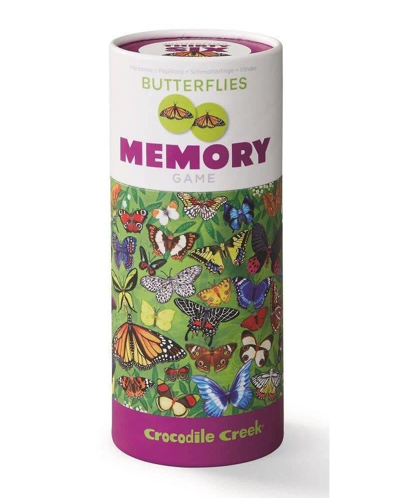 Crocodile Creek Animal Memory/Butterflies