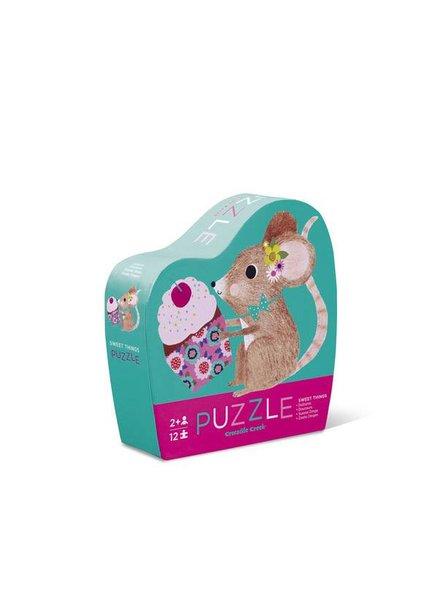Crocodile Creek 12 pc Mini Puzzle - Sweet Things