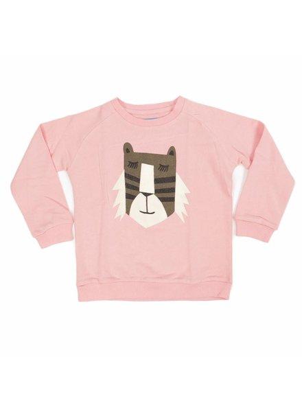 Liv + Lou Sweater Odilon solid-  Coral Almond Tiger Lashes