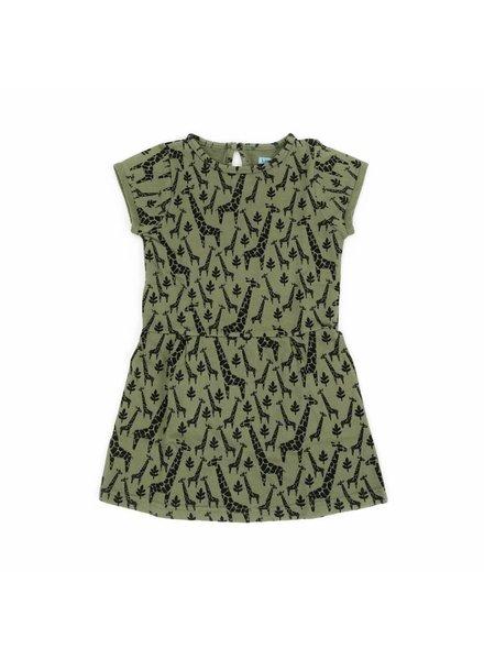 Liv + Lou Dress Odette - Jungle Girafs