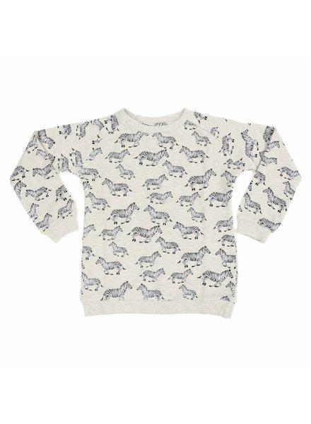 Liv + Lou Sweater Odilon - Jumping Zebras
