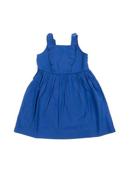 Lily-Balou Poplin Dress Rafaela - Dazzling Blue