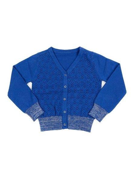 Lily-Balou Knit Cardigan Nette - Dazzling Blue
