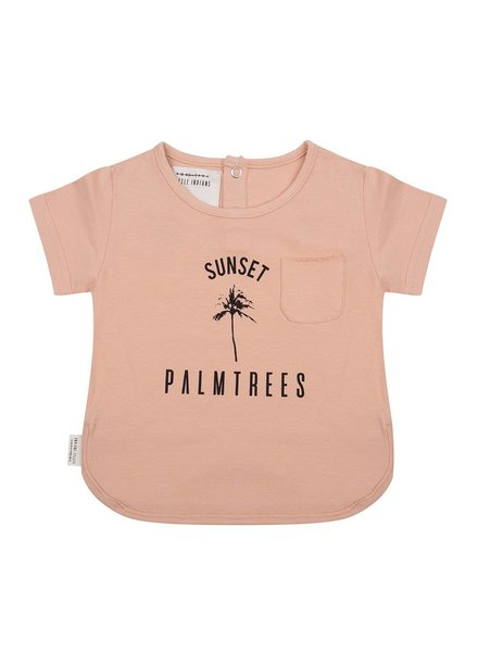 Little Indians T-shirt Sunset - Dusty Coral