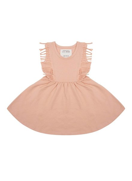 Little Indians Dress Boho - Dusty Coral