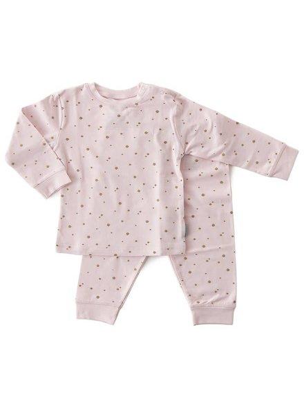 Little Label 2-piece pyjama-set   -  pink copper stars