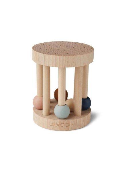 Liewood Ayda wood rattle -Mix