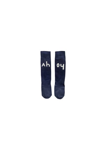 Sproet & Sprout High Socks Ahoy Navy