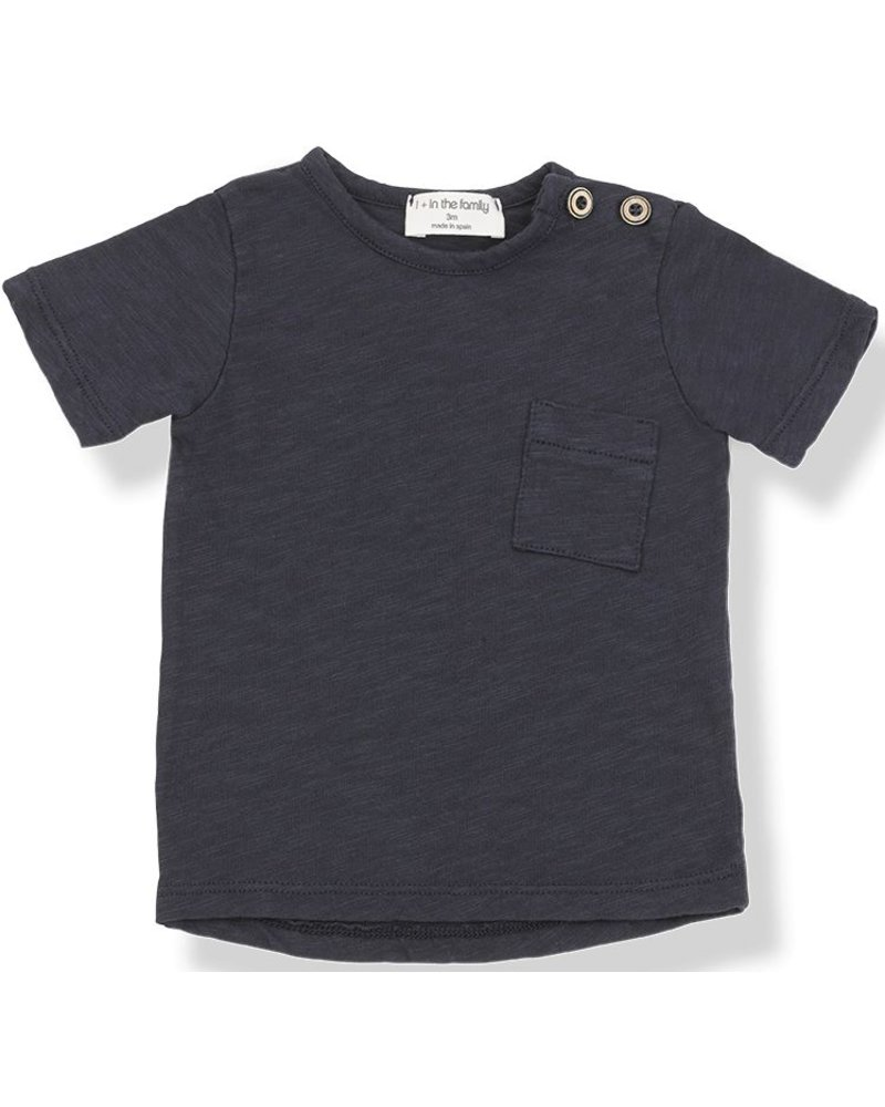 1 + In the Family Judd - s.sleeve t-shirt - blu notte