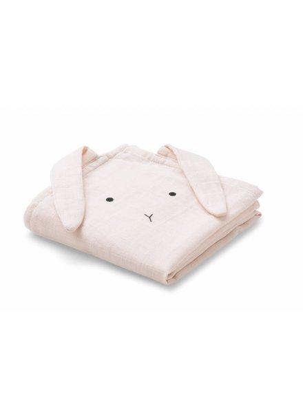 Liewood Hannah muslin cloth cat: set van 2 stuks