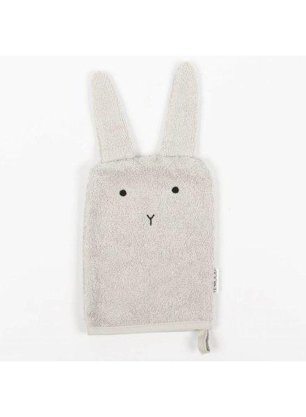 Liewood Sylvester Washand Rabbit Light Grey