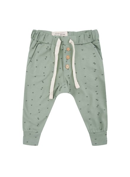 Little Indians Pants Small Arrow - Soft Green