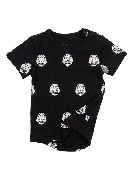 CarlijnQ T-shirt - A lions head