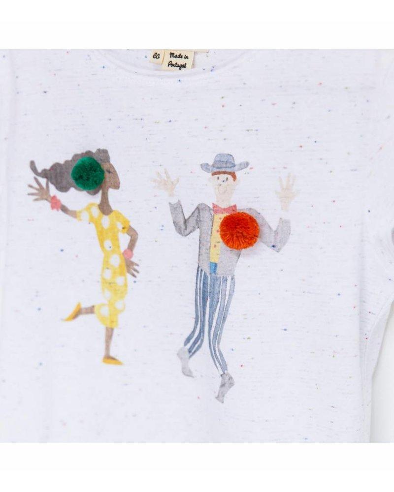 "Arsene et les Pipelettes Tee shirt MC ""Danseurs cha cha"""