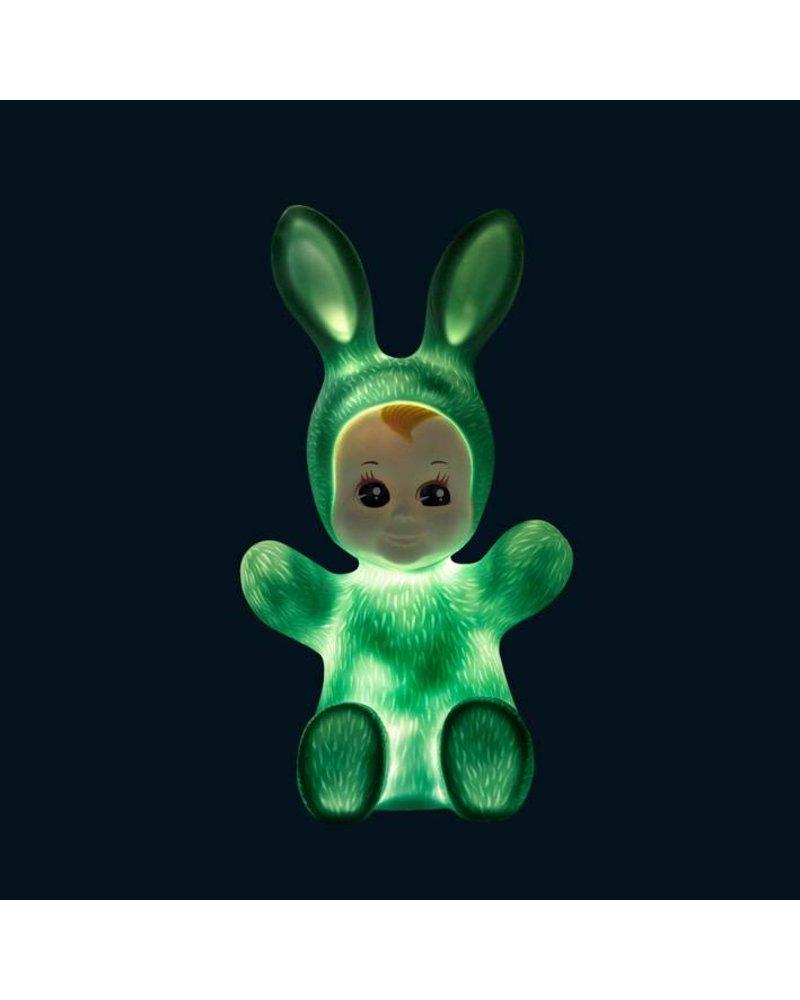 Goodnight Light Bunny lamp mint