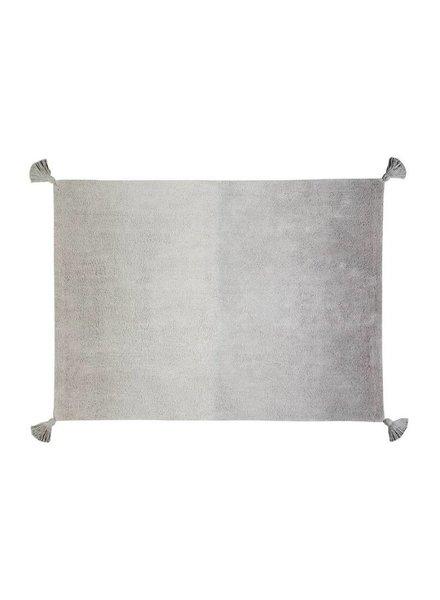Lorena Canals Wasbaar tapijt - Ombre dark grey-grey
