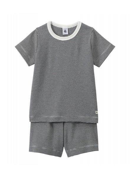 Petit Bateau Pyjama - streepjes