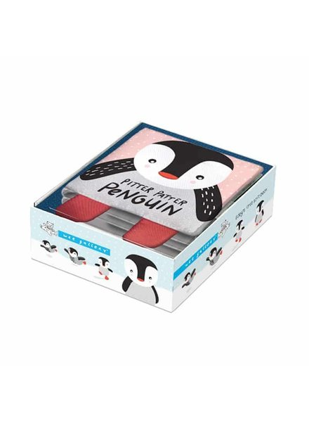 Wee Gallery Soft Book - Pitter Patter Penguin