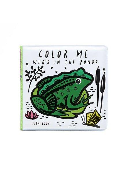 Wee Gallery Bath Book - Color Me Pond