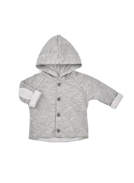 1 + In the Family ALAN - hood jacket - light grey