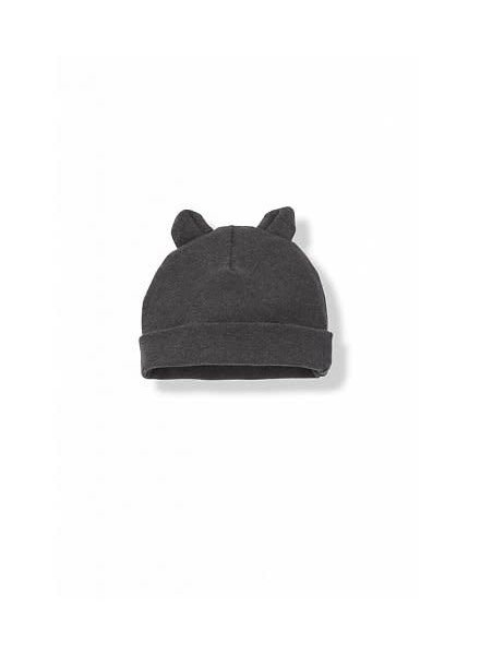 1 + In the Family SUNE - bonnet w/ears - anthracite