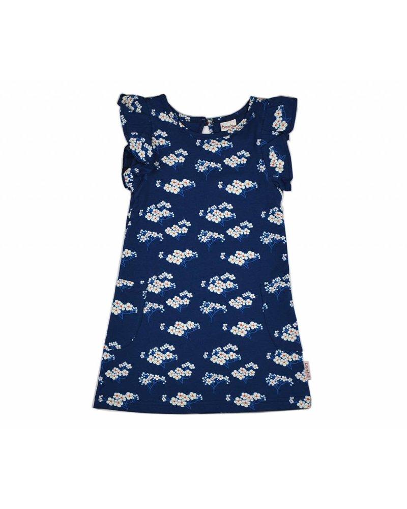 Baba Babywear Ruffle dress - Julia blue
