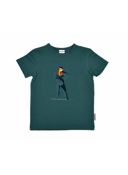 Baba Babywear T-shirt - Hero dark green