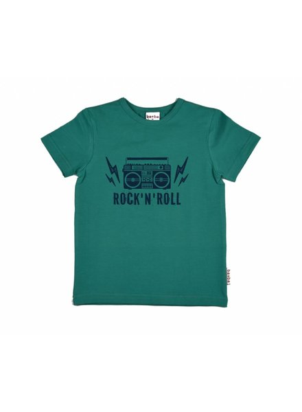 Baba Babywear T-shirt- Rock green