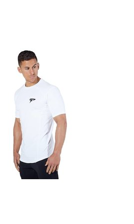 Physiq apparel Essential fitted t-shirt - wit