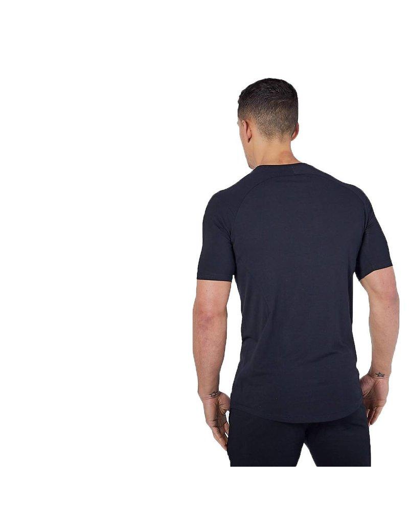 Physiq apparel Essential fitted t-shirt - zwart