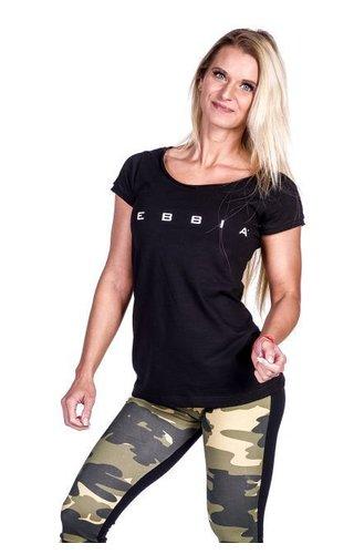 NEBBIA Fitness t-shirt - zwart