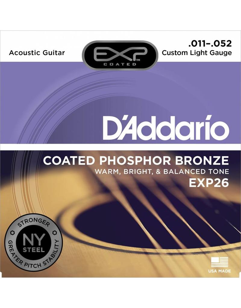 DAddario Coated Phosphor Bronze