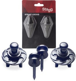 Stagg Strap Locks, SSL1 BK