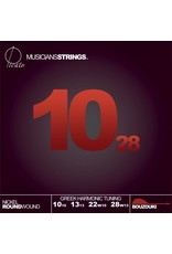Picato Nickel Bouzouki Loopend, 10-28, 90797