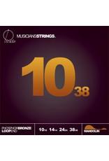Picato Phosphor Bronze Loopend Mandolin, 10-38, 96575