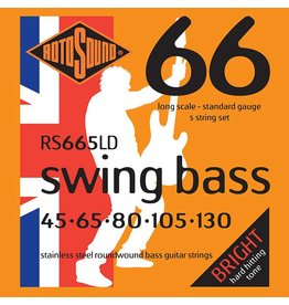 Rotosound Swing Bass, 45-130, 5 String Set, RS665LD