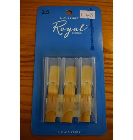 DAddario Woodwinds Royal, Bb Clarinet, 3 Pack, 2.5