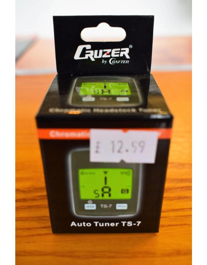 Crafter Cruzer Chromatic Headstock Tuner, TS-7